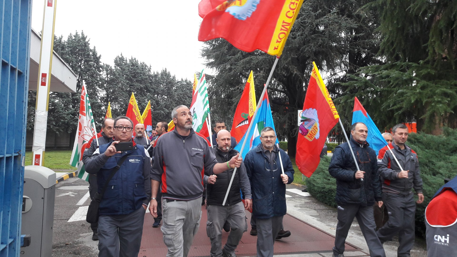 Cnh Inudstrial di Pregnana Milanese in sciopero per due ore FOTO - Settegiorni - Settegiorni