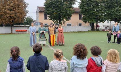 Legnarello in visita alla scuola dell'infanzia Santi Magi