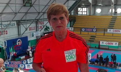 La Maestra Adriatico nell'Olimpo del Karate