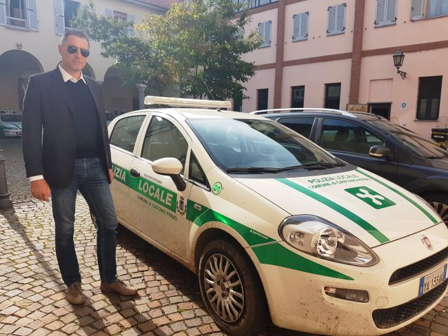 Castano Primo, assessore Andrea Osellame