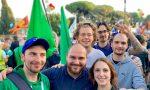 Lega Giovani di Varese a Roma contro il Governo giallorosso