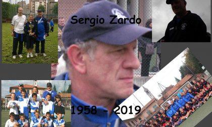 Addio a Sergio Zardo, mondo del calcio in lutto