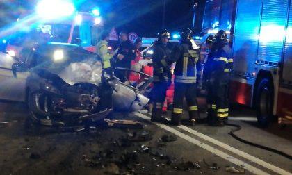 Schianto sul Sempione a Rho, tre auto coinvolte