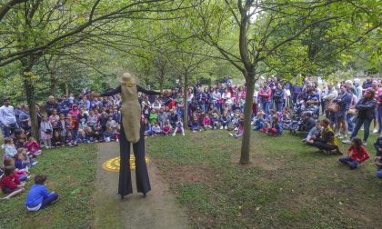Bosco Incantato, oltre 600 in festa al Parco Pineta