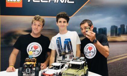 Favij, Sanchini e Valsecchi a il CENTRO di Arese con LEGO
