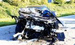 Gaggiano, scontro tra Mercedes e furgone sulla Sp38