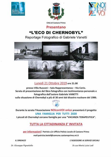 Castano Primo, L'Eco di Chernobyl