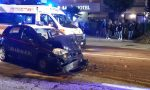 Incidente sul Sempione tra un'auto e una pattuglia dei carabinieri FOTO