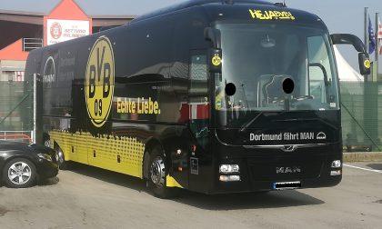 Il Borussia Dortmund prepara la sfida contro l'Inter a Settimo Milanese