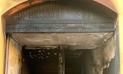 Incendio doloso ad Arconate: un uomo intossicato