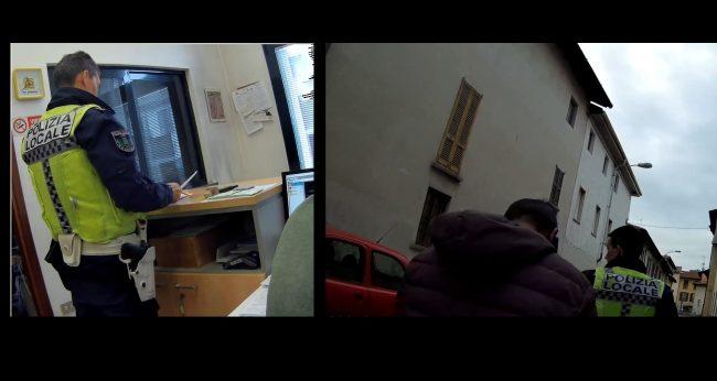Castano Primo, sgombero locali occupati da parte della Polizia locale
