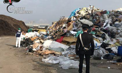 Tonnellate di rifiuti speciali stoccate illecitamente a Origgio FOTO