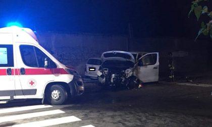 Quattro feriti nel cuore della notte a Legnano