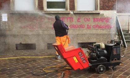 """Sindaco cancro di Gaggiano"": scritte shock sui muri"