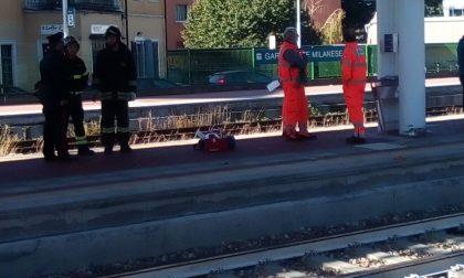 Uomo travolto dal treno alla stazione di Garbagnate
