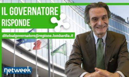 Regione Lombardia contrasta la violenza sulle donne | Il governatore risponde