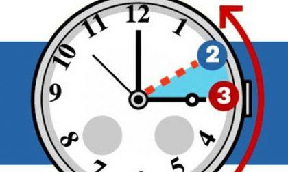 VI siete ricordati di cambiare l'ora?