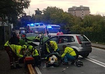 Bruttissimo incidente a Pogliano: muore un uomo di 89 anni