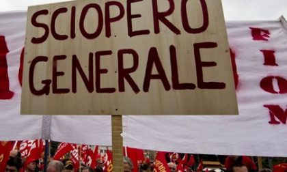 Sciopero generale del 25 ottobre: rischio caos trasporti, uffici pubblici e scuole