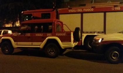 Auto ribaltata sulla Sp128: sul posto anche i pompieri