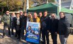 Lega in piazza a Legnano contro il Governo