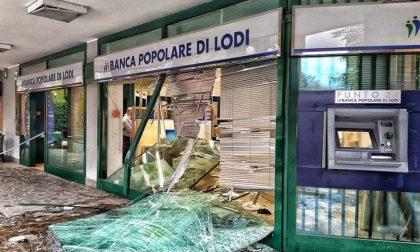 Colpo alla Banca Popolare di Lodi in piazza Dalla Chiesa a Senago