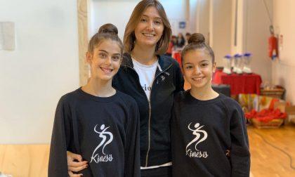 A 12 anni, Alessia Cucchetti si prepara per il Campionato Nazionale di ginnastica ritmica