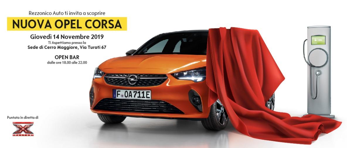 La Nuova Opel Corsa in anteprima da Rezzonico auto a Cerro Maggiore - Settegiorni
