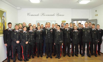 In arrivo 20 nuovi carabinieri al Comando Provinciale di Varese
