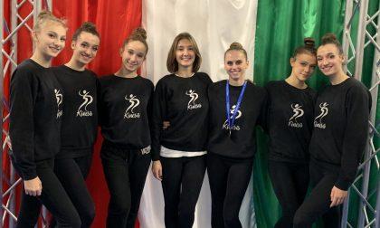 Podio nazionale per la Kinesis, Giulia Gherardini è bronzo