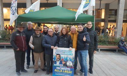 Lega in piazza a Legnano per l'autonomia