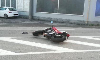 Grave scontro a Legnano: coinvolte un'auto e una moto