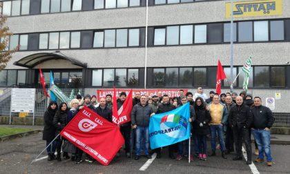 Dipendenti della Sittam in protesta a Cornaredo