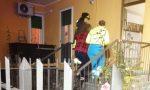 Esplosione in un appartamento, crolla un muro VIDEO