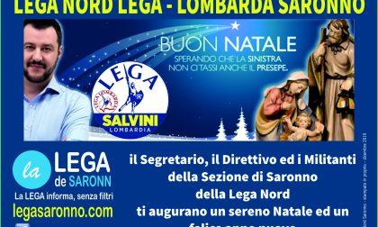 Natale a Saronno: Lega in piazza con gazebo