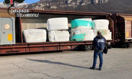 Sequestrate ottocento tonnellate di rifiuti