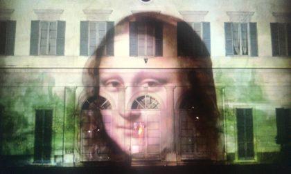 Le opere di Leonardo sulle facciate di Palazzo Brambilla: a Castellanza uno spettacolo unico in Italia