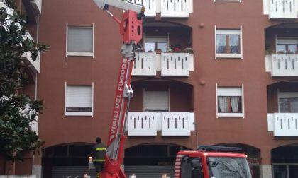 Fuga di gas in un appartamento a Nerviano