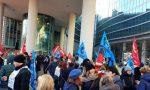"""""""Conad non ci vuole"""": lavoratori Auchan protestano sotto la Regione FOTO"""