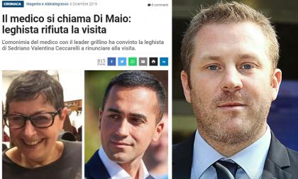 """Ceccarelli e il dottor Di Maio, De Rosa (M5S): """"Lega, sempre più in basso..."""""""