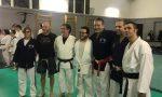 Primo allenamento multidisciplinare di arti marziali a Rescaldina