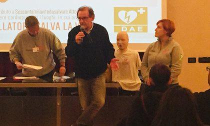 Uso del defibrillatore: formati 50 cittadini a Legnano FOTO