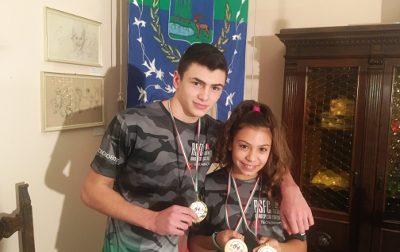 Due campioni italiani dal fight club di Dal Pozzo