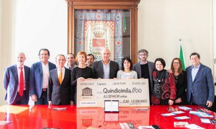 Legnano night run dona 15mila euro per la ricerca