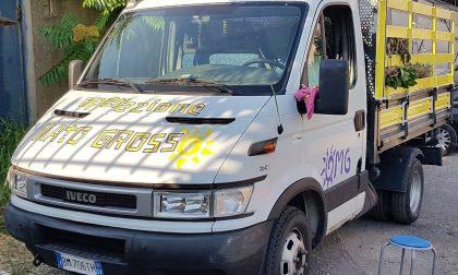 Rubato il furgone dell'Operazione Mato Grosso