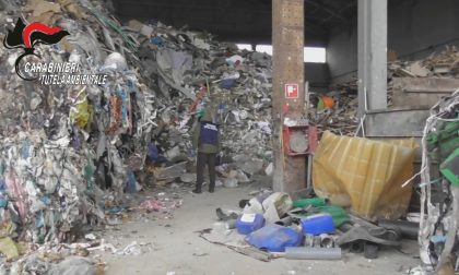Sequestrato impianto nel Milanese con tonnellate di rifiuti illeciti