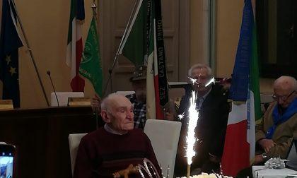 Castano festeggia il suo neocentenario Stangalini