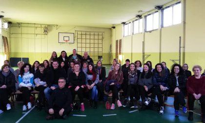 Corso di difesa femminile a Parabiago: buona la prima – Le foto
