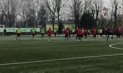 Il Cagliari a Rho per preparare la gara di Coppa Italia con l'Inter