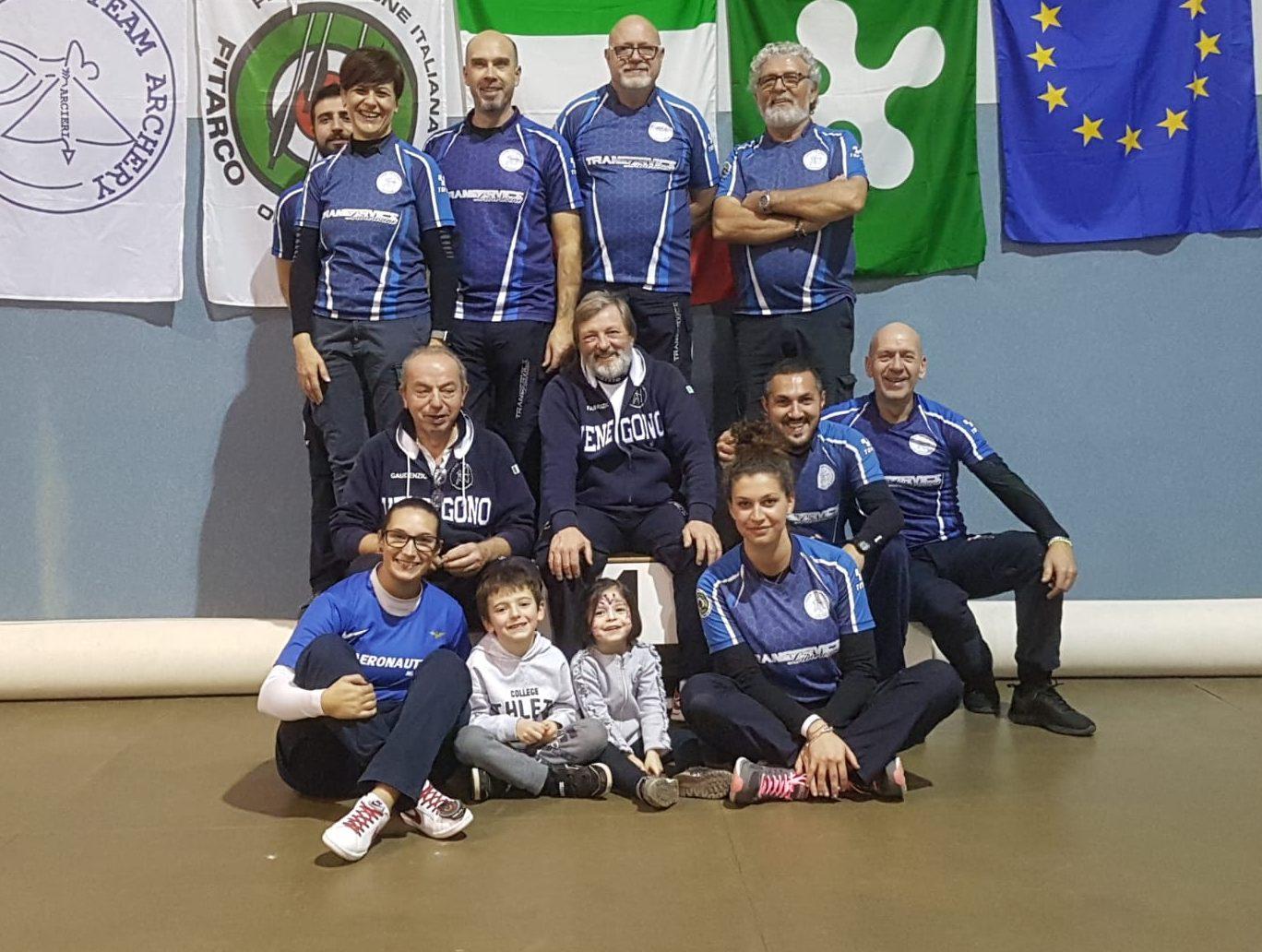 torneo della befana team archery con tanya giaccheri